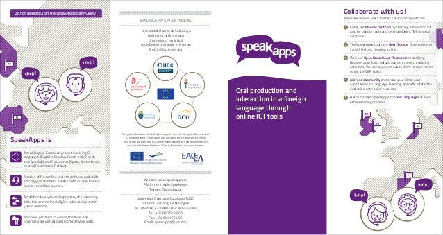 SpeakApps - End of project Leaflet