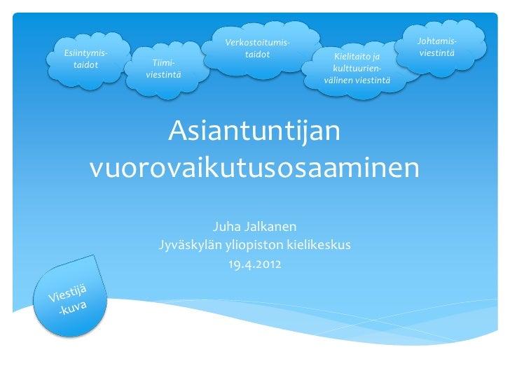 SpeakApps presentation (Finnish)