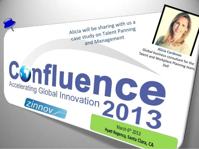 Confluence2013 Speaker Update: Alicia Cardenas