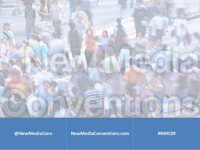 New Media Conventions Speaker Intro Slides