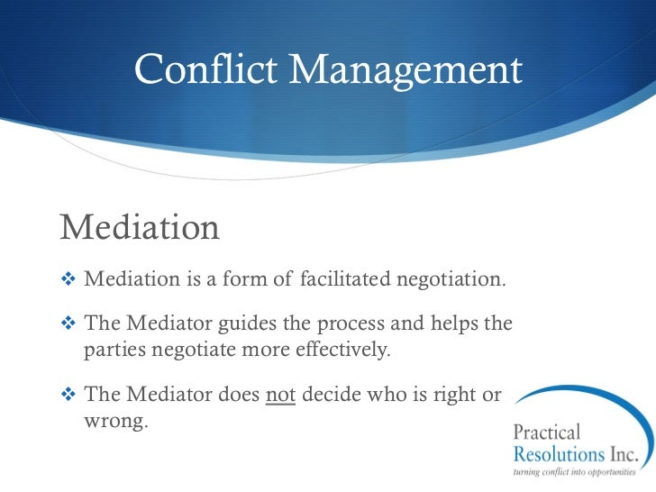 conflict resolution practices The groundbreaking book, the handbook of conflict resolution: theory and practice, published by jossey-bass, is a comprehensive resource that integrates authoritative research and definitive examples for those professionals and students involved in a wide variety of conflict resolution fields.