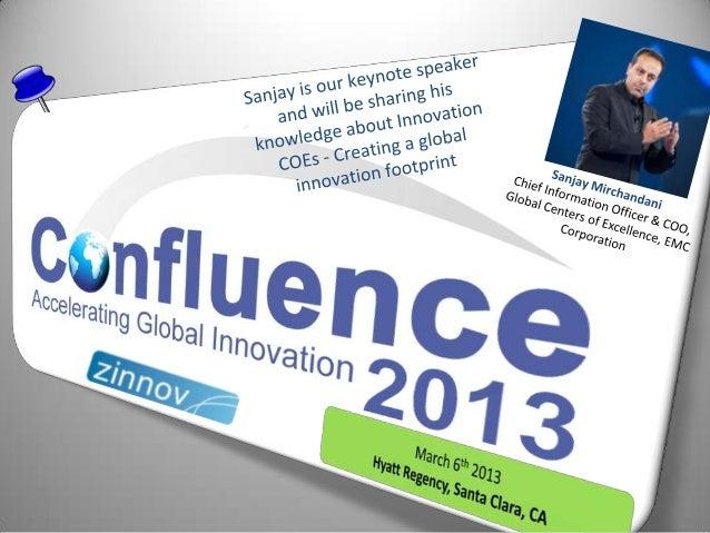 Confluence2013 Keynote Speaker: Sanjay Mirchandani