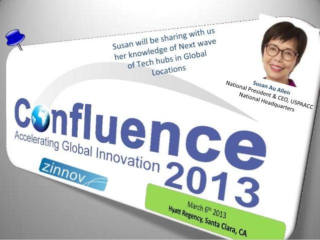 Confluence2013 Speaker Update: Susan Au Allen
