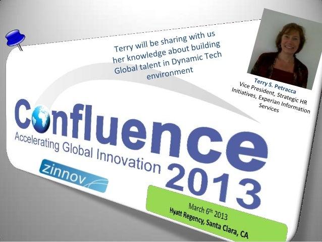 Confluence2013 Speaker Update: Terry S. Petracca