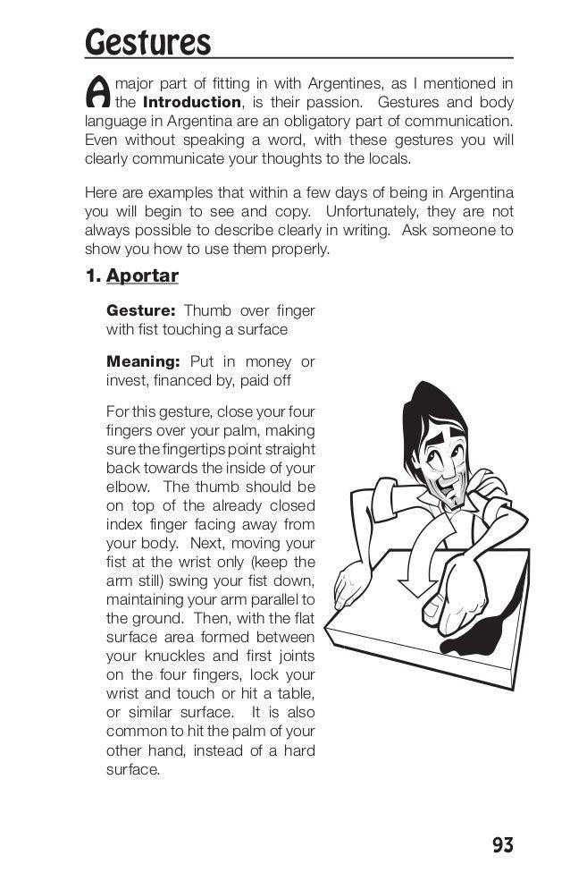How do you spell the Spanish slang -