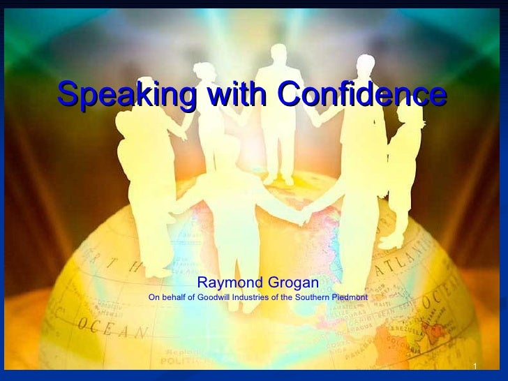 Speaking With Confidence 080307