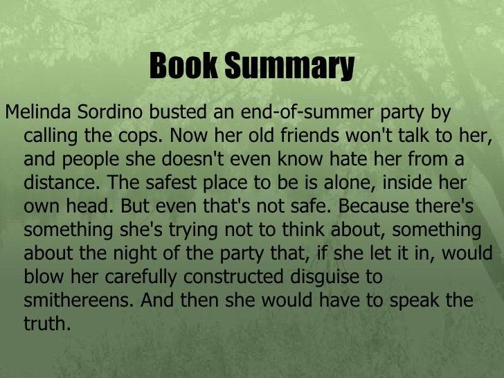 Speak book report