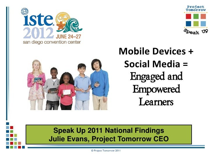 Mobile Devices + Social Media = Engaged and Empowered Learners