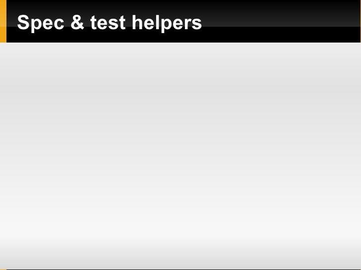 Spec & test helpers