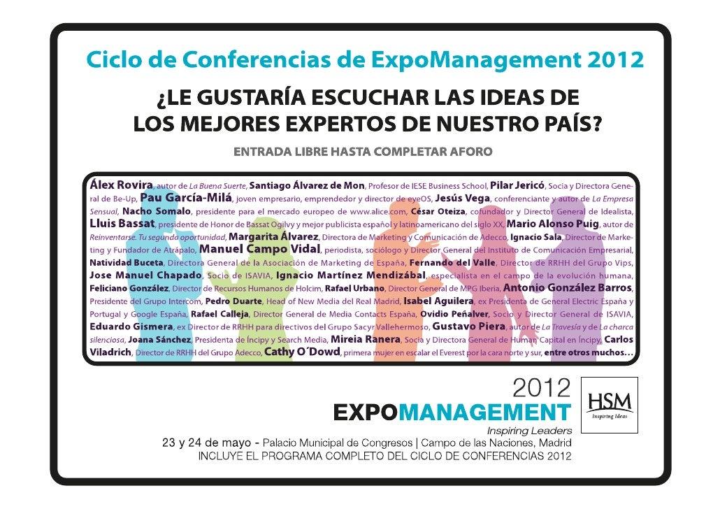 Conferencia Reputación Online y Marca Personal 24 de Mayo 2012
