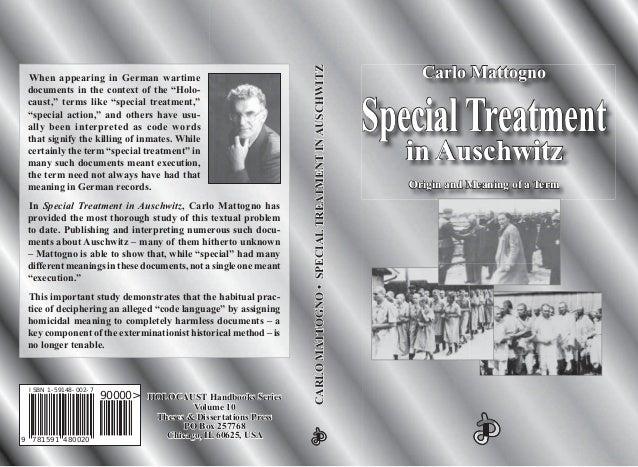 HOLOCAUSTHOLOCAUST Handbooks SeriesHandbooks Series Volume 10Volume 10 Theses & Dissertations PressTheses & Dissertations ...