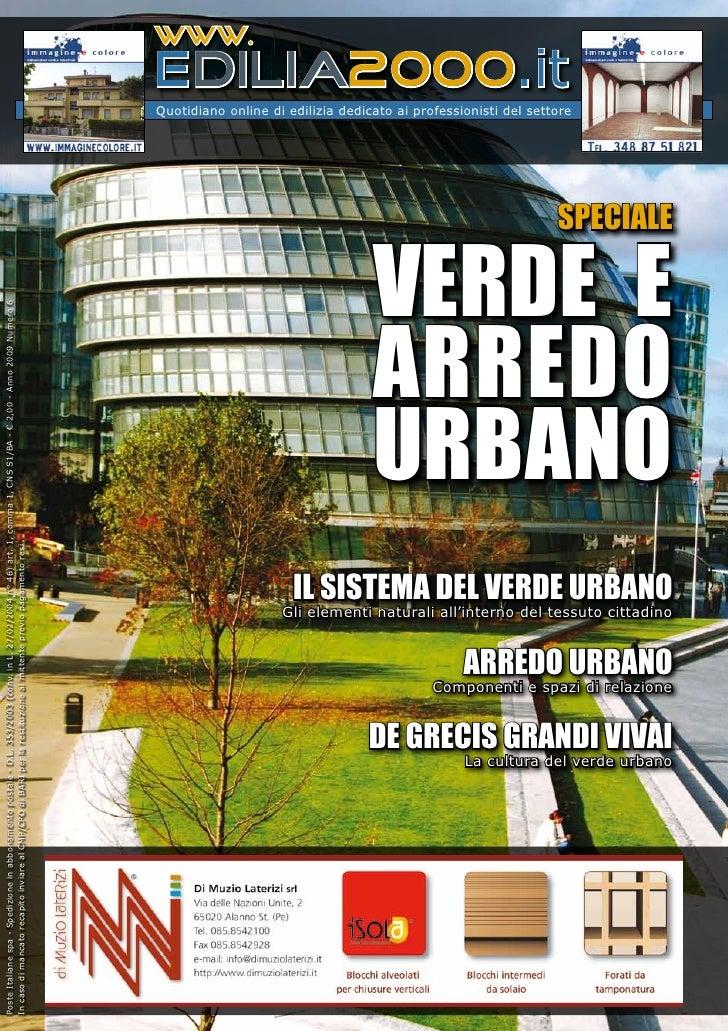 Edilizia - Verde e Arredo urbano