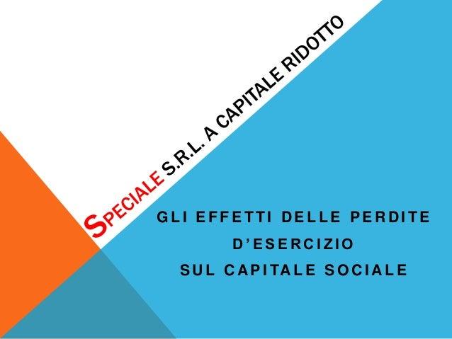 Speciale a capitale ridotto