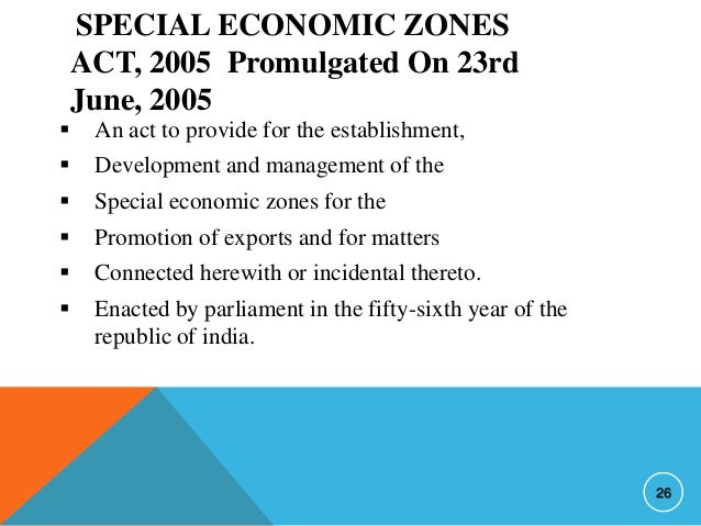 failure of sezs in india Chapter 3 current status of sezs in india and abroad introduction a special economic zone (sez) or free trade zone (ftz is typically an enclave of.