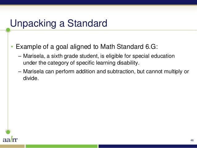 math worksheet : 4th grade math common core standards unpacked  4th grade math  : Math Worksheets For Special Education Students
