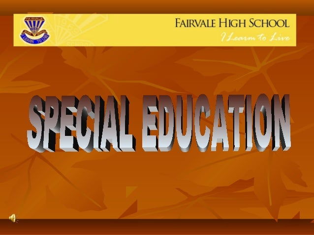 Fairvale High Special Ed