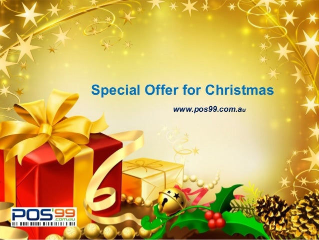 LOGO  Special Offer for Christmas www.pos99.com.au