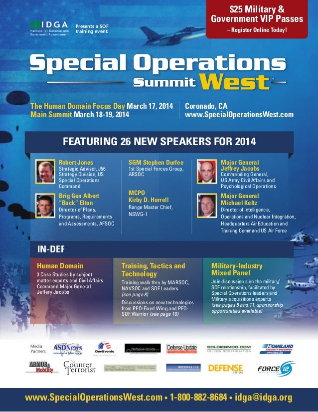 Special Operations West 2014