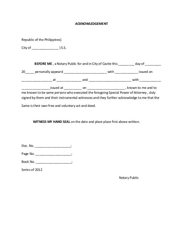 sample letters of power of attorney