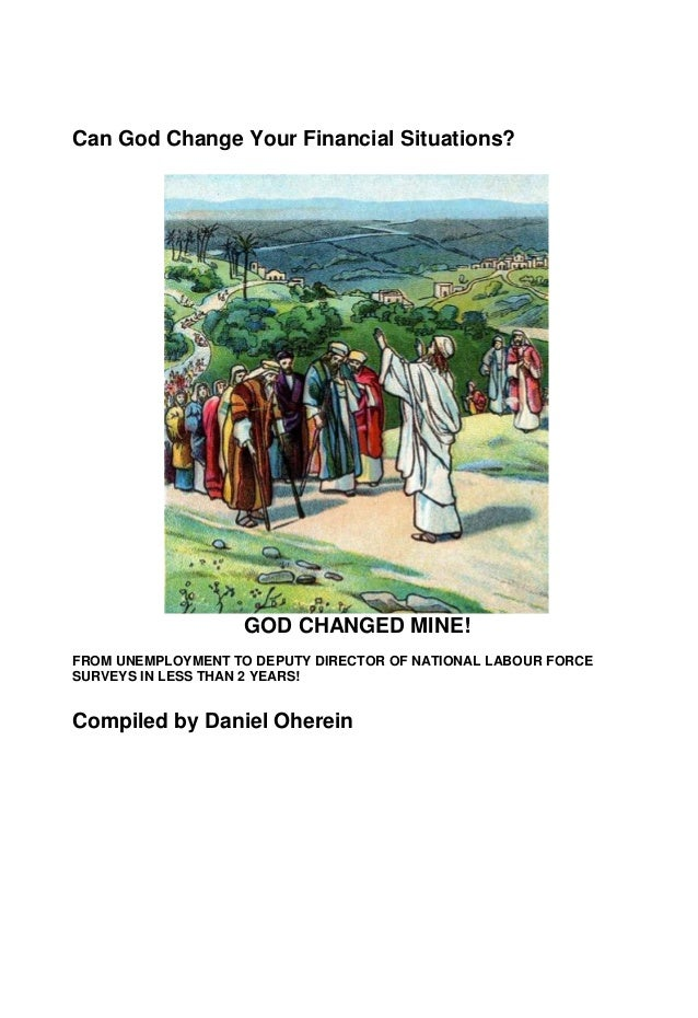 Miracles of firstfruits:  from cursed to blessing  I  by Daniel Oherein l I I 1 u' -I I v , , x 4 , v;' T 4 I 'N J ' 5% T ...