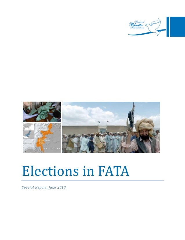 Elections in FATASpecial Report, June 2013