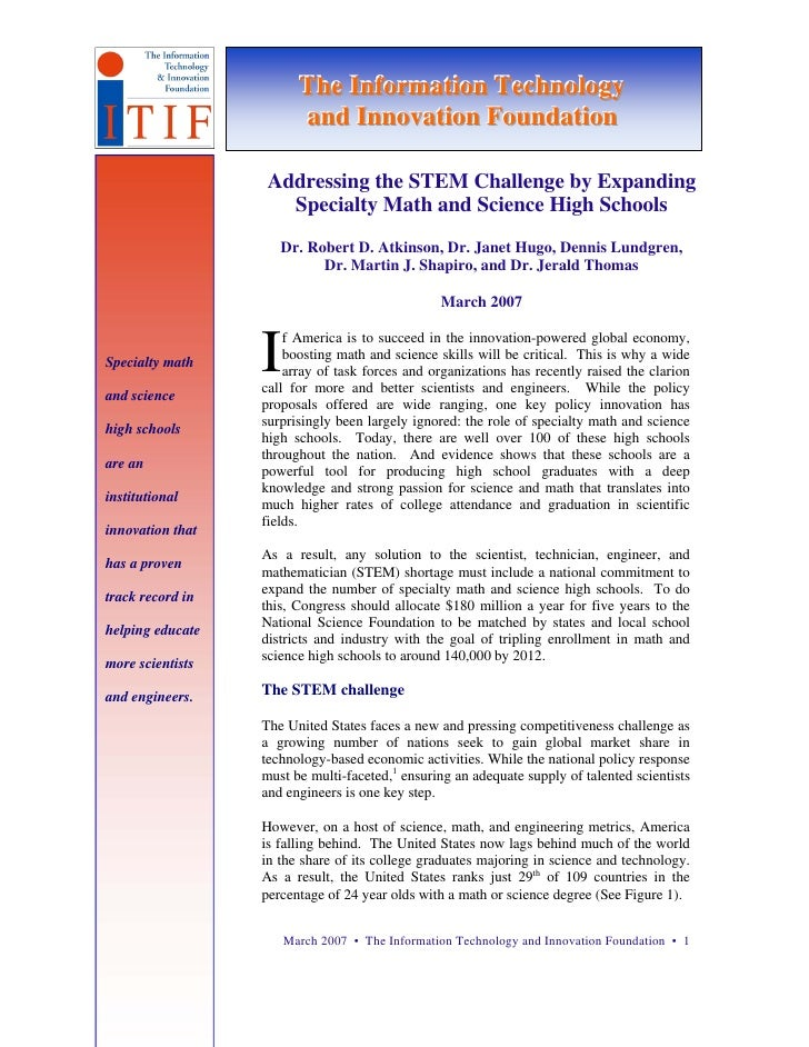 The Informatiion Technollogy                         The Informat on Techno ogy                         and Innovatiion Fo...