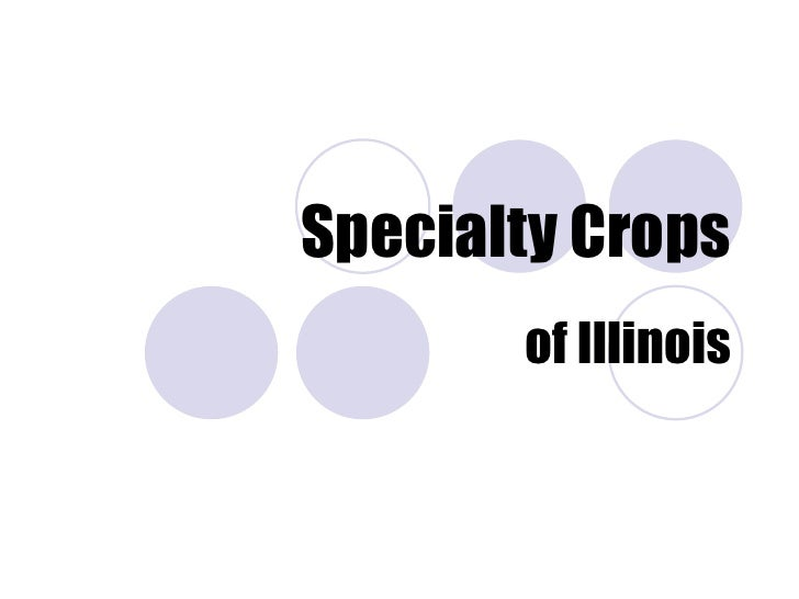 Specialty Crops of Illinois