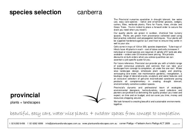 species selection                                            canberra                                                     ...