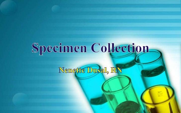 specimen collection - photo #30