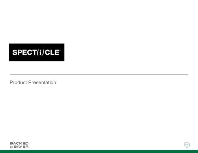 Specticle Presentation