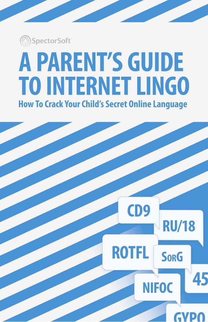 Spector soft internet lingo for parents