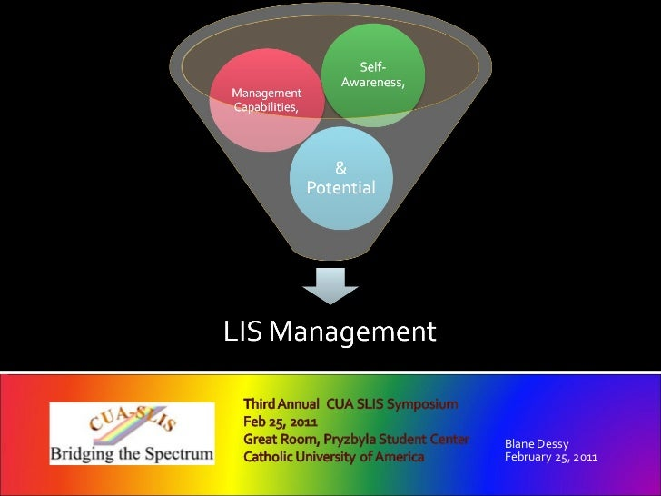 Management Competencies, Capabilities & Potential: LIS Management