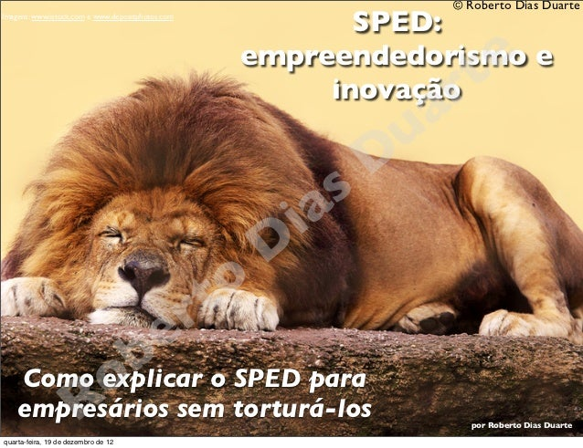 Será que o Leão é Manso? Explicando o SPED para empresários sem torturá-los.