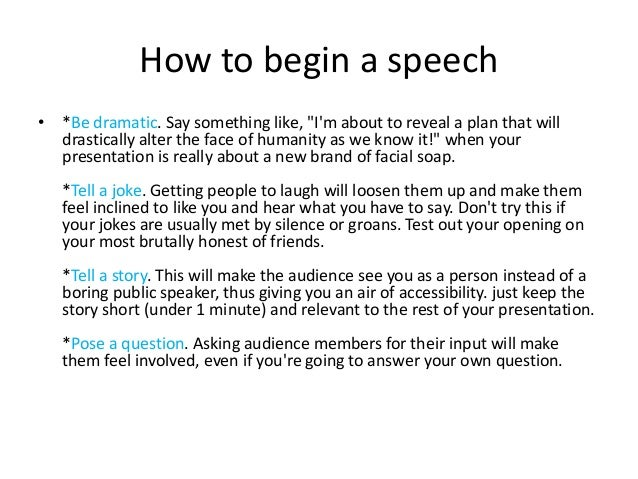 how a speech can impact the audience english language essay How to write a speech cater your speech to your audience the style should be different than a typical essay or article you can't have complex paragraphs.