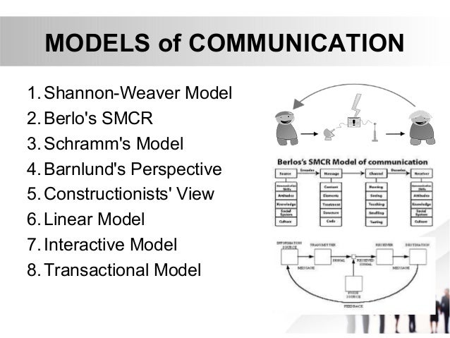 """shannon weaver model in healthcare In 1948, shannon was an american mathematician, electronic engineer and weaver was an american scientist both of them join together to write an article in """"bell system technical journal"""" called """"a mathematical theory of communication"""" and also called as """"shannon-weaver model of communication."""