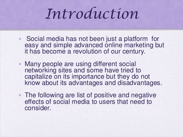 Negative and Positive Impact of Social Networking Essay
