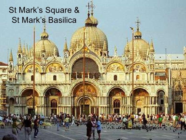 Speech2 saint marks square and basilica