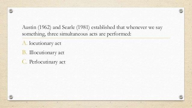 Language Analysis of Film: Directive Illocutionary Acts