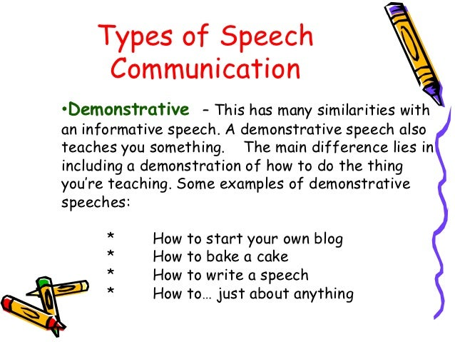 Write my speech of communication