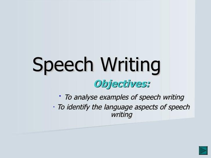 Speeches (1)