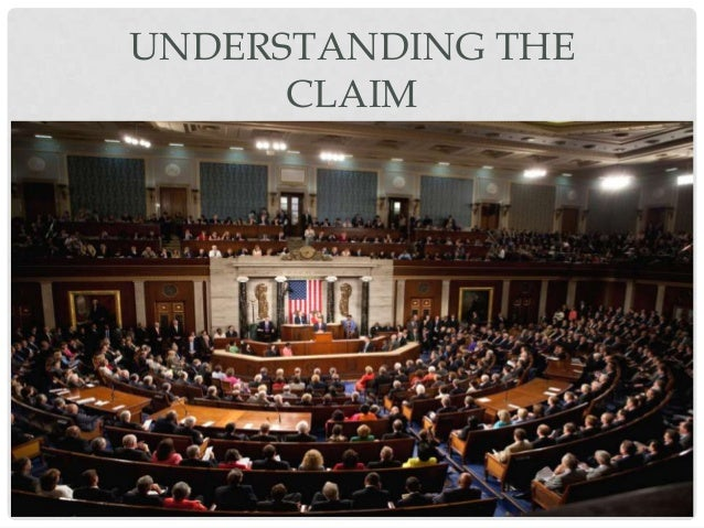UNDERSTANDING THE CLAIM