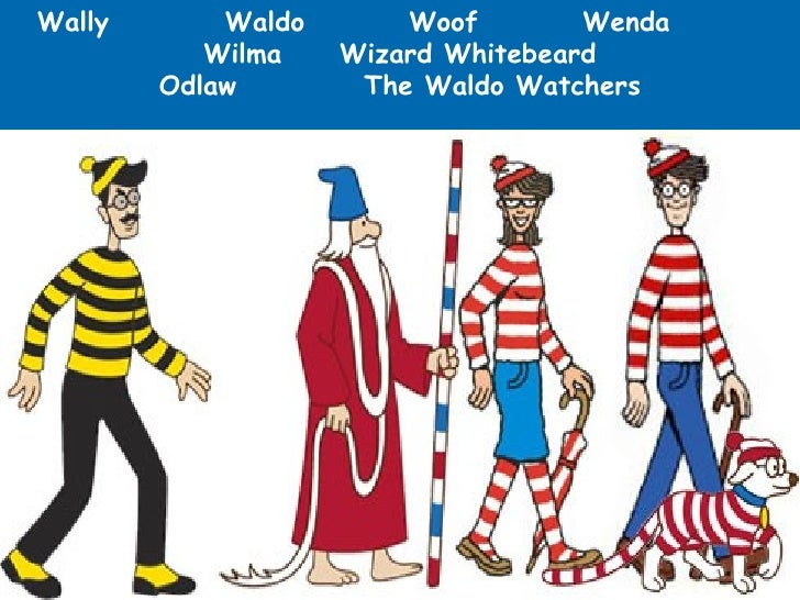 Výsledek obrázku pro waldo where's wally