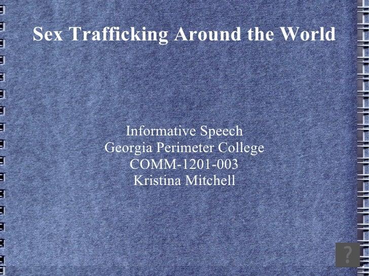 ~Speech presentation