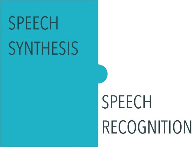 speech systhesis
