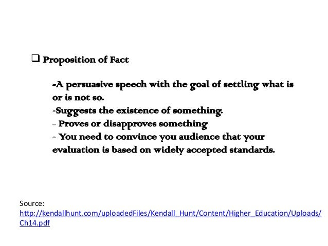 Proposition Of Fact Topics For A Essay - image 3