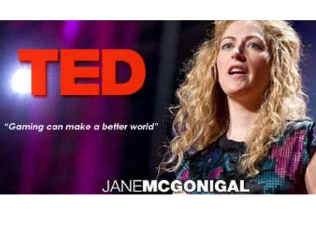Speech slideshow Jane McGonigal