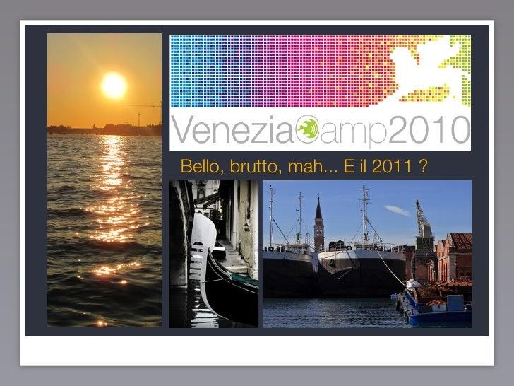 Speech veneziacamp 10