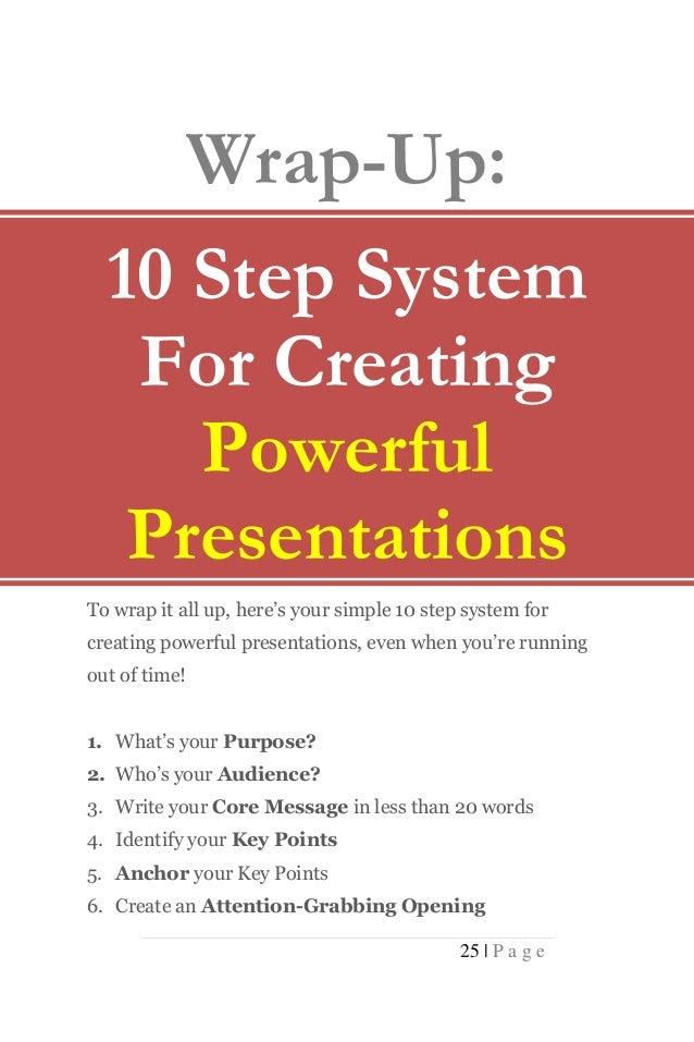 10 minute persuasive speeches