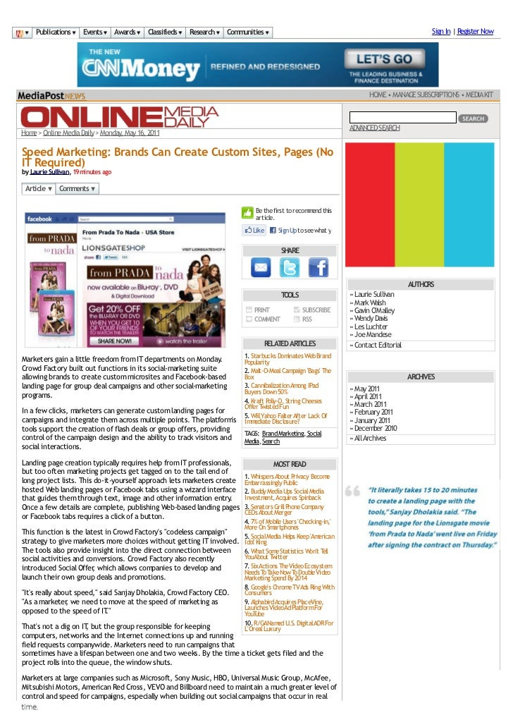 Publications      Events        Awards   Classifieds   Research   Communities                                             ...