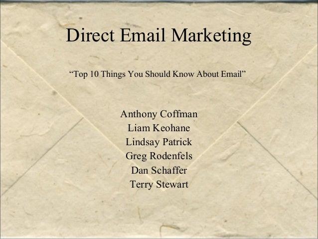 Speed Marketing 2 - eMail Best Practices